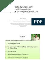 Duterte-style Populism