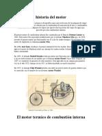 Motor de Combustion Interna a Gasolina