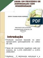 A Agricultura Familiar Colombiana Um Processo de Modernização