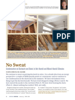 2016 Condensation on Ductwork and Boots in Hot–Humid and Mixed–Humid Climates