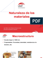 2. Naturaleza de Los Materiales