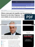 Www Elmostrador Cl Noticias Pais 2016-11-23 Pinera Como Gato