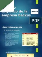 Proceso Logístico de La Empresa Backus