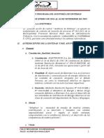 Plan y Programa de Auditoria de Sistemas