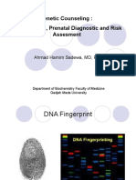 Fingerprint Prenatal Diagnostic