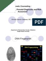 Fingerprint Prenatal Diagnostic