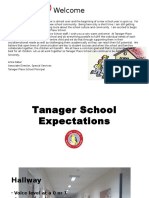 tanager school expectations