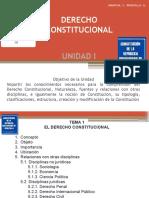 Derecho Constitucional Unidad i Tema 1 y 2