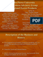New England Forest Products SBA Presentation