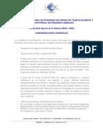 3.1 Consideraciones Generales Curso Internacional en Cirugia de Tejidos Blandos y Ortopedia, La Habana, Cuba
