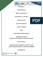 Aporte Mecanismos de QoS Diffserv Teletrafico