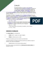 OXIDOS ESPECIALES