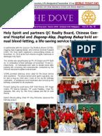 RC Holy Spirit the DOVE Vol. IX No. 15 November 22, 2016