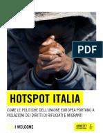 Report Hotspot Italia