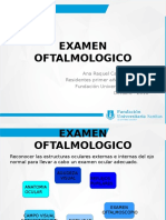 Examen Fisico Oftalmologico