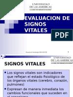 Evaluacion de Signos Vitales 2009 2.0