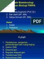 Bioeknologi