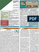 Shabat Shalom Vol-6 (19.6.2010)