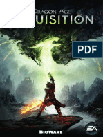Dragon Age Inquisition Manuals PC Es