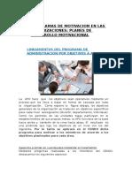 Programas de Motivacion en Las Organizaciones