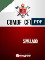 Simulado CFO CBMDF Final