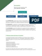 Estructura Base Del Texto Expositivo