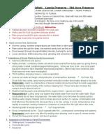 Ecology Field Journal Scrub Habitat Lyonia Preserve.docx