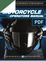 GA Motorcycle License Exam Study Manual