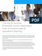 Enterprise Social Collaboration Fuels Innovation Sales Operations Planning
