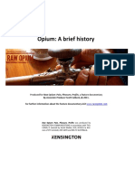 Opium:aBriefHistory