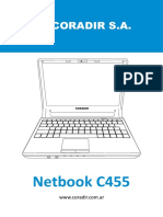 Netbook Coradir C455 A4