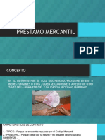 PRÉSTAMO-MERCANTIL