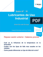 Clase 16 Lubricantes