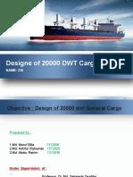 design of 20000dwt cargo carier