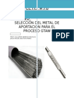 Metales de Aportacion
