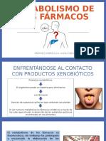 Metabolismo de Los Fármacos