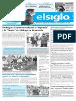 Edición Impresa Elsiglo 24-11-2016
