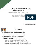 MIN280 Clarificación