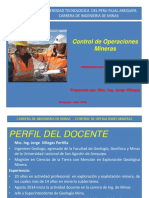 Presentaci¾n Control Operaciones Mineras