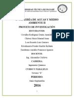 Proyecto Aguas II