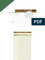 Amortizaciones Programa de Calculos Excel