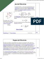 Electron Spin