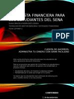 Propuesta Financiera Para Los Estudiantes Del Sena