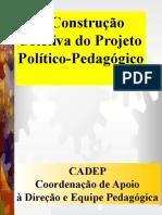 23 Construção Coletiva Do PPP