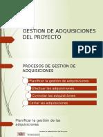 Gestion de Adquisiciones Del Proyecto