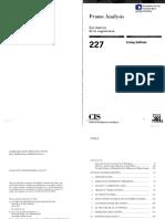 Frame Analysis. Los marcos de la experiencia