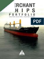 Merchant Ships Portfolio Web