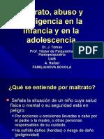 Maltrato Abuso y Negligencia en La Infancia y en La Adolescencia (1)