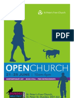 Open Church Flyer