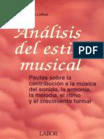 LARUE, J. - Análisis del estilo musical.pdf